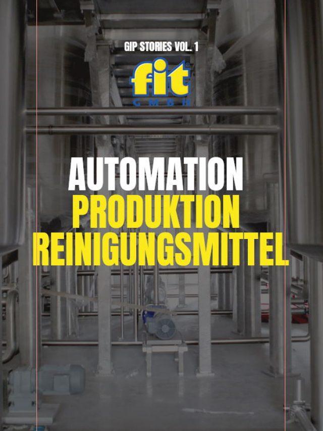 Automation Produktion Reinigungsmittel
